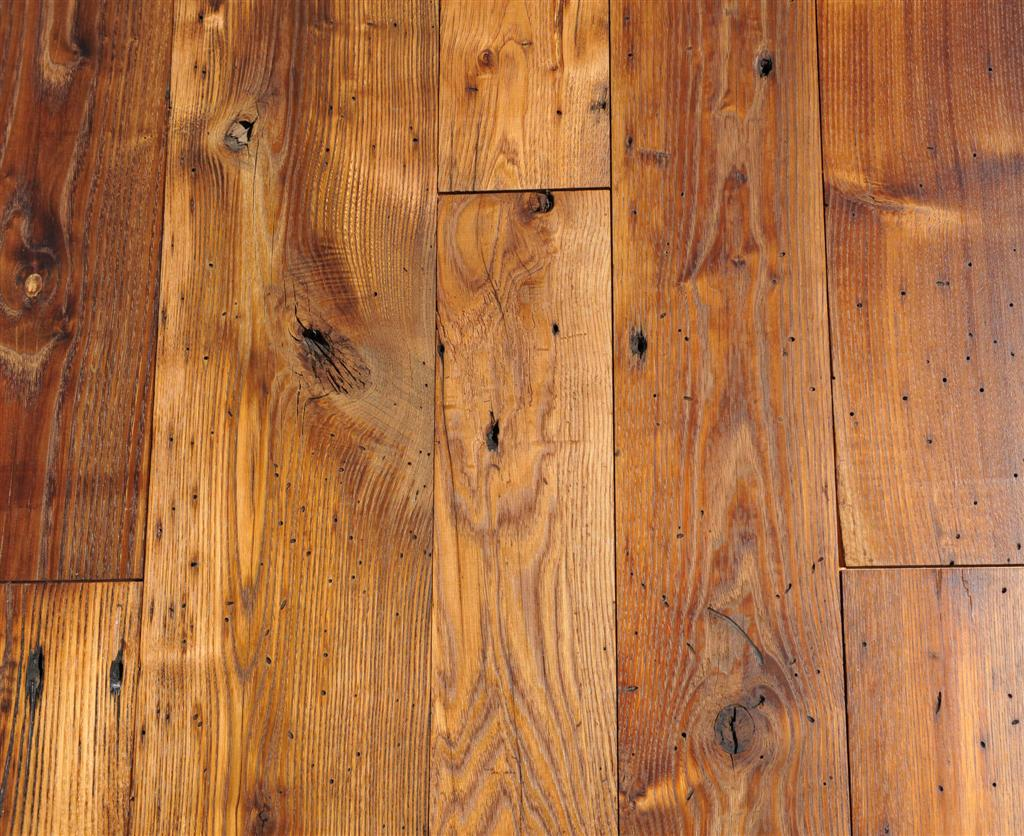 Authentic french oak floors from classic salvaged and for Recycled hardwood floors