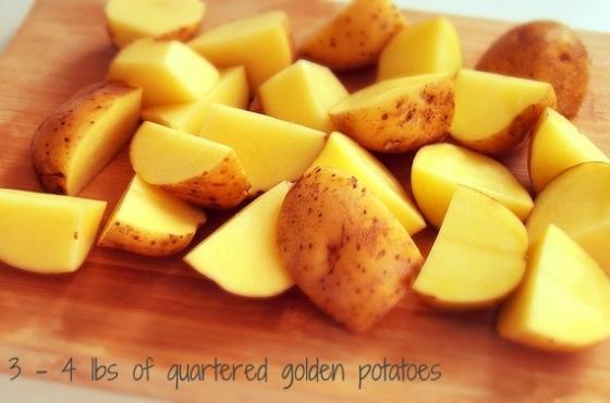 golden_quartered_potatoes_crock_pot_recipe_easy_healthy_family_text